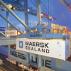 craned onto maersk shipping line