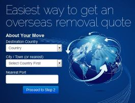 overseas move quote banner